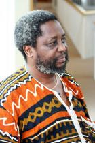 Under the Tongue: A Festival of Literature from Africa:  Writer Chenjerai Hove, forced out of Zimbabwe by the government of Robert Mugabe, is a fellow in Brown University's International Writers Project. He and other African writers will share their work and their stories during a two-day conference at Brown, April 15 and 16.