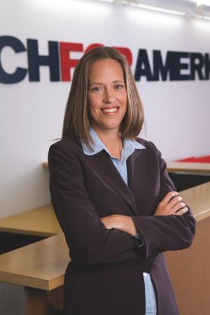 Wendy Kopp - CEO and founder of Teach for America
