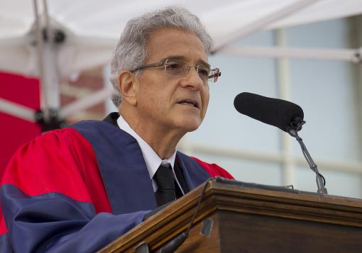 "Omer Bartov at Opening Convocation - ""Conformism ultimately kills creativity, deadens sensibility, and  undermines democracy. It is a thing to be resisted, even at the price –  perhaps especially at the price – of disrupting the very system from  which we all benefit."""
