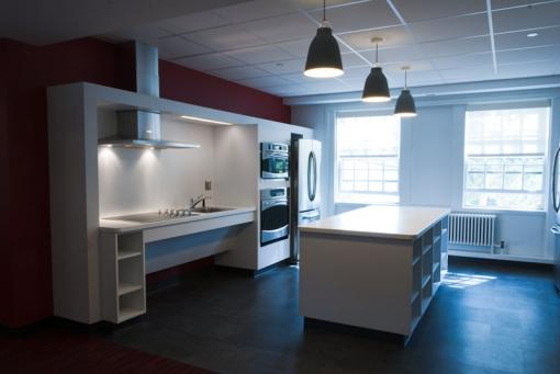 This is Keeney? - Transformations occurred over the summer, as the first phase of a $67-million renovation project brought new life to many residence halls — as well as kitchen facilities, study areas, lounges, and additional beds.