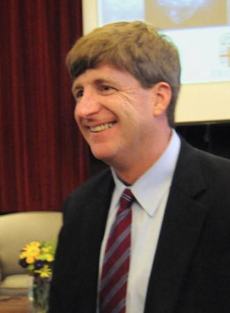Champion and advocate - Patrick Kennedy has been a frequent speaker on issues of health and society, accessibility of mental health care, and the imperative of life science research, particularly neurological and brain sciences.