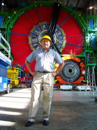 At the hub of the search for the Higgs boson - In December, Greg Landsberg, professor of physics, wilil begin a two-year term as physics coordinator for the Compact Muon Solenoid, a detector at the Large Hadron Collider near Geneva.
