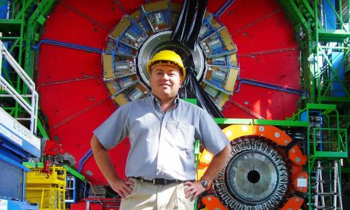 At the hub of the search for the Higgs boson - In December 2011, Greg Landsberg, professor of physics, began a two-year term as physics coordinator for the Compact Muon Solenoid, a detector at the Large Hadron Collider near Geneva.