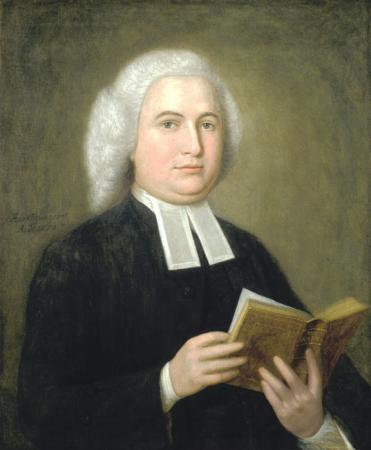 James Manning - First President of Brown University (1764–1791)The portrait, painted in 1770 by Cosmo Alexander, hangs in the President's Office, University Hall.