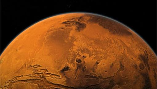 Greenhouse effect on the Red Planet? - Early on, Mars had giant active volcanoes, which would have released significant methane. Because of methane's high greenhouse potential, even a thin atmosphere might have supported liquid water.