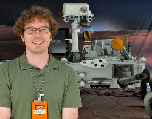 """Touchdown confirmed"" - Ralph Milliken, a member of the science team for Curiosity, the Mars rover, was in California for the descent and landing. ""It is simply a fantastic, unbelievable feat of engineering."""