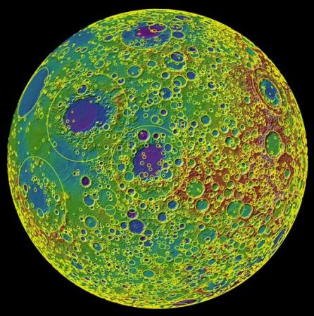 Big craters by the thousands - A research team led by Brown University mapped nearly 5,200 craters on the Moon, the first global catalog of large craters on the lunar surface. The crater analysis could shed light on planetary bombardment in the inner solar system more than 4 billion years ago.