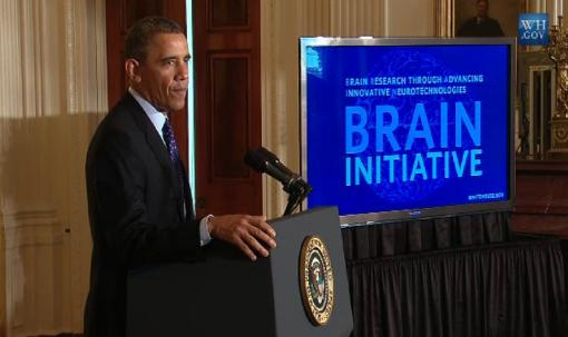 "The BRAIN Initiative - John Donoghue, professor of neuroscience, and Arto Nurmikko, professor of  engineering, were at the White House Tuesday morning, April 2,  as participants in President Barack Obama's ""Grand Challenge"" initiative  called BRAIN."