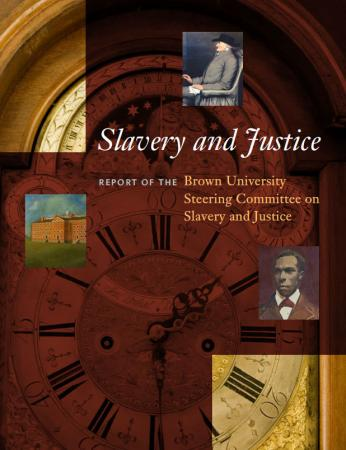 "Slavery and Justice - Among the report's recommendations endorsed by the Corporation was the creation of a ""living site of  memory, inviting reflection and fresh discovery without provoking  paralysis or shame."""