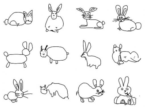 "Ears and whiskers are a hint - Computers can recognize photos and careful drawings of rabbits, but quick sketches by non-artists ... not so much. Researchers in Providence and Berlin say they have produced the first computer application that enables ""semantic understanding"" of abstract sketches."