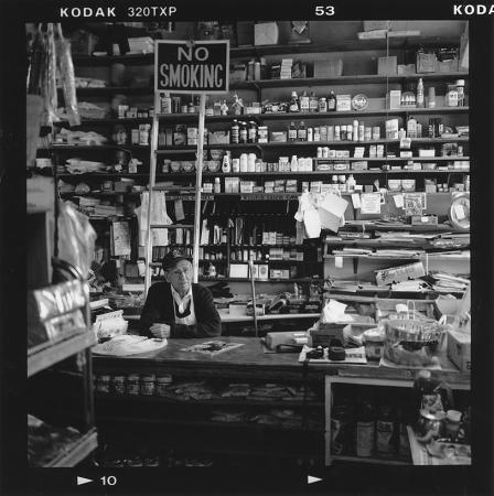 "Bart Dessaint, 100 year old Providence grocery - Photo, 4"" x 4"""