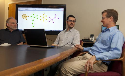 The good and the bad of Big Data: It's big, it's noisy - Eli Upfal, Fabio Vandin, and Ben Raphael, from left, are developing Big Data analytical tools that make sense of large datasets and eliminate the noise of data errors.