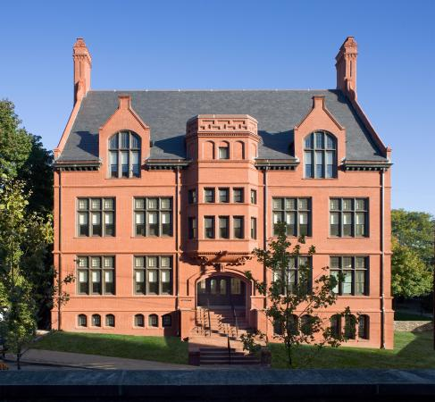 Pembroke Hall - Originally dedicated in 1897, Pembroke Hall was the first building erected for the Women's College at Brown University.