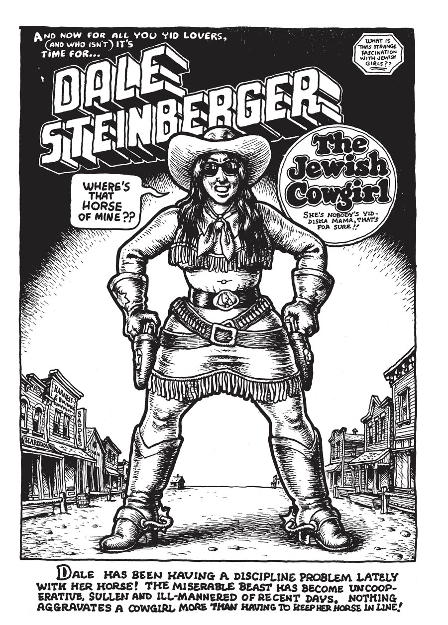 Dale Steinberger: The Jewish Cowgirl, written and drawn by R. Crumb (1969):