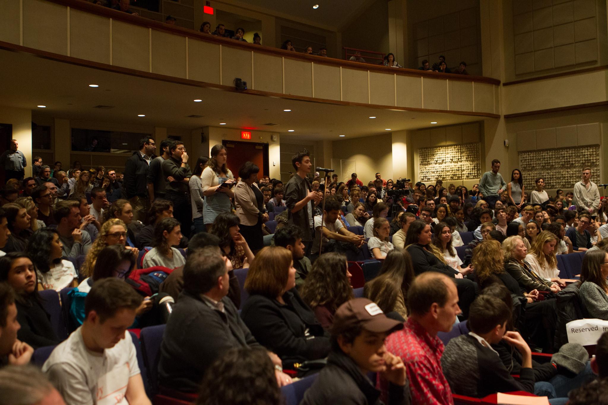 Audience at Robert DeNiro panel