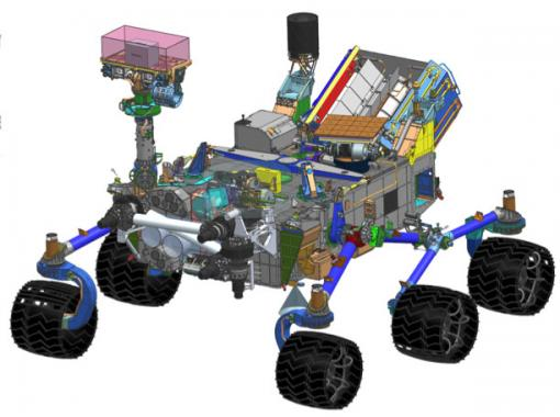 mars rover landing system - photo #27