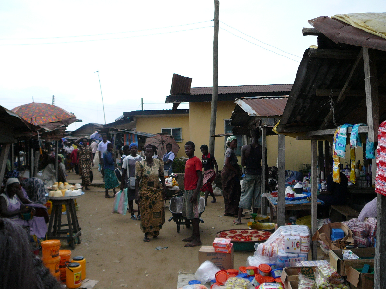 Amakiri Market: The researchers found that infertile Amakiri women were more disadvantaged than their Lopon counterparts.
