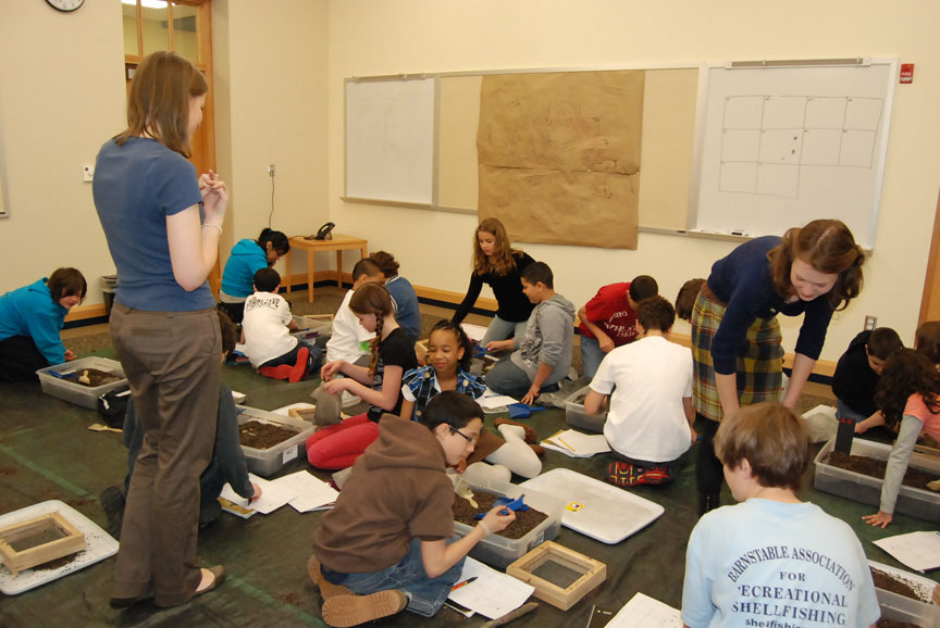 Image result for Archaeologists in the classroom