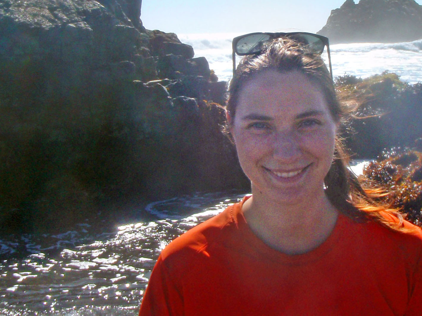 "Emily Lamb: ""Chile wasn't even on my radar when I came to Brown, and barnacles certainly weren't the type of marine biology I pictured myself doing, but in the end it's been a really amazing experience."""
