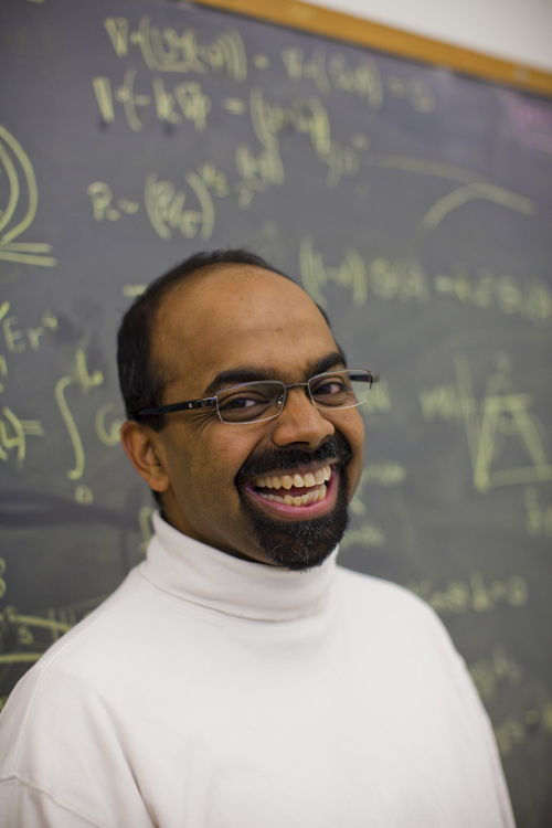 "L. Mahadevan: ""A lot of mathematics is more or less a quantified version of common sense. ... I'm hoping that younger people will come because they are the future — and can solve the problems we find so hard today."""
