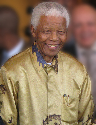 Nelson Mandela in 2008: Credit: South Africa The Good News