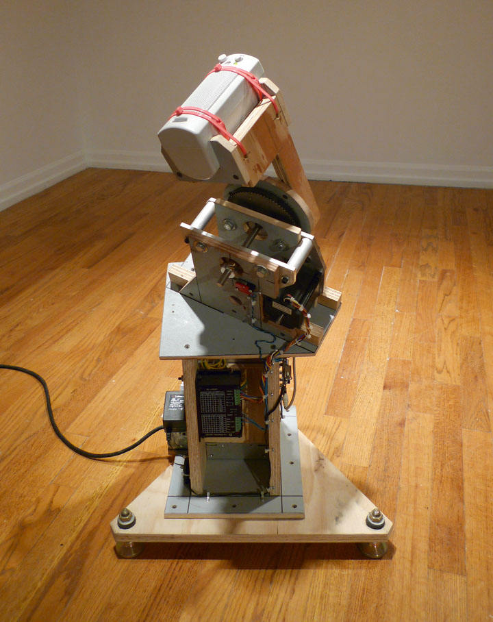 Gregory Witt, Packing Tape (2010): Mixed media, sound