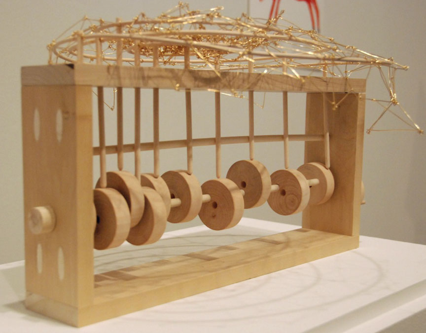 Eunice Cho: Untitled: Wood and wire (2013)