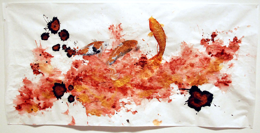 Sarah Cheung: Alchemy: Acrylic pigment and glaze on paper (2012)