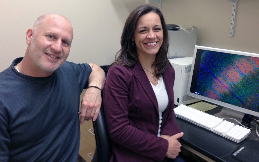 Timing is everything: Mark Zervas and Elizabeth Normand found that the timing of gene mutation during thalamus development makes a huge difference in the severity of tuberous sclerosis complex.