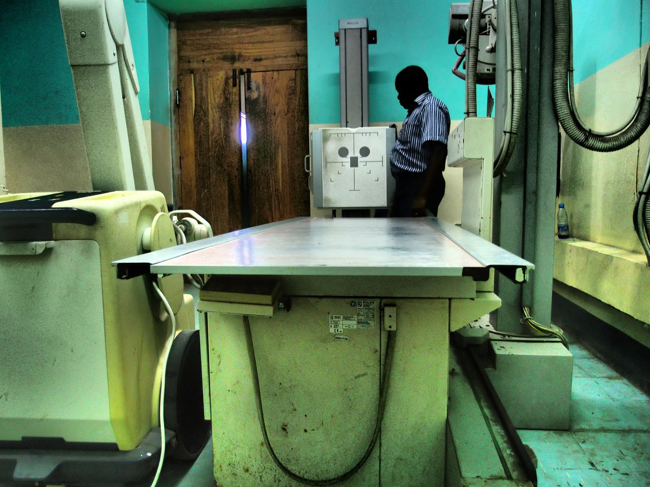 Keeping it running, keeping it used: MED International is working to build Zanzibari hospitals' capacity for managing medical equipment — maintaining it and repairing it it it breaks under heavy use.