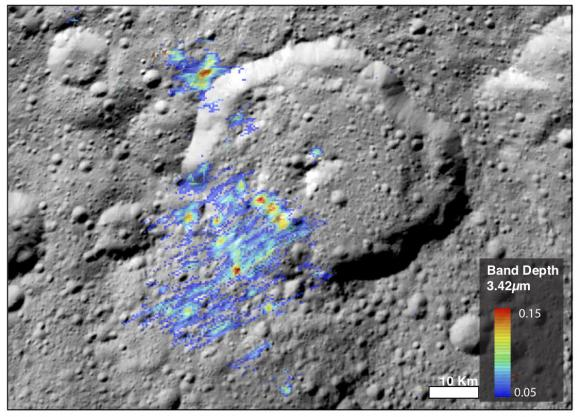 Organics on Ceres Surprisingly High Concentrations, More Abundant Than Originally Thought
