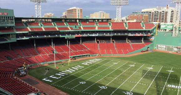 Football At Fenway On Friday News From Brown