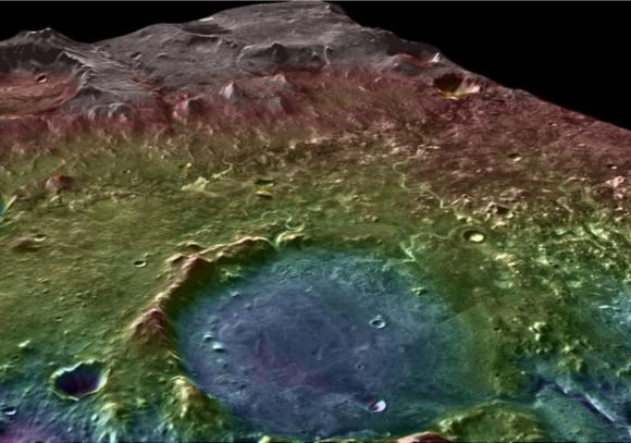 ancient martian lake system records two water