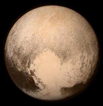 Pluto's famous